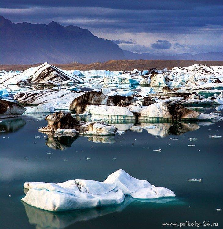 Впечатляющие пейзажи Исландии